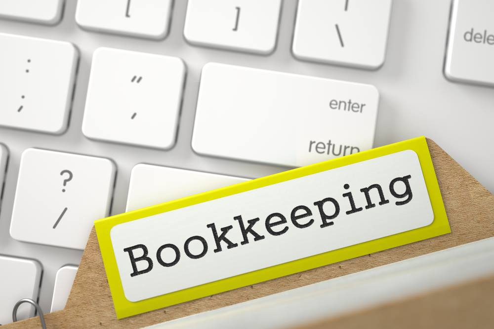 Bookkeeping   picture of keyboard