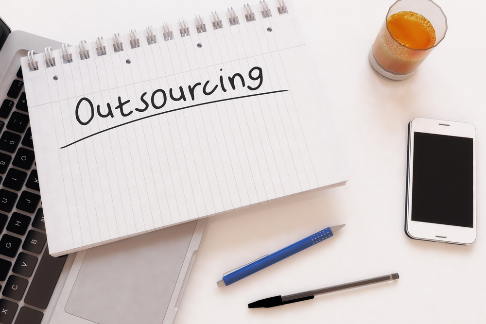 Outsourcing Your Bookkeeping | picture of notebook